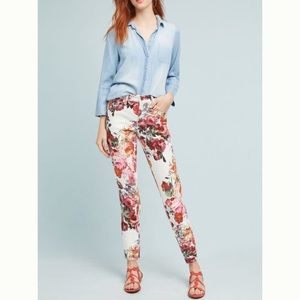 Pilcro Mid-Rise Skinny Ankle Jeans Anthropologie